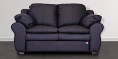 Berry Two Seater Sofa in Coffee Brown Colour