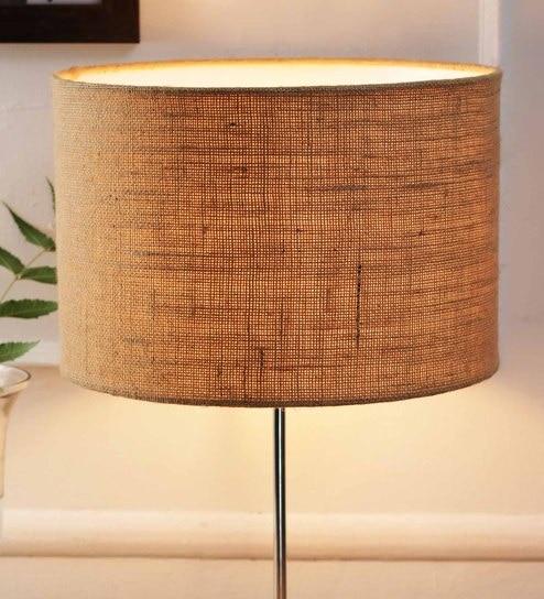 Buy beige jute and stiffener lamp shade by new era online beige jute and stiffener lamp shade by new era aloadofball Choice Image