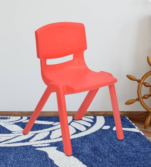 Buy Berry 585h Study Chair In Red Color By Nilkamal Online Kids