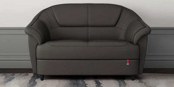 Berry 2 Seater Sofa In Grey Colour