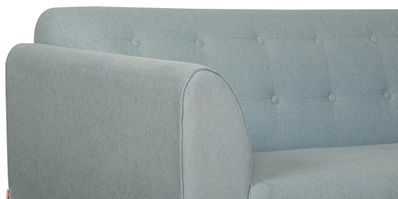 Buy Belem Three Seater Sofa In Ice Blue Color By Casacraft