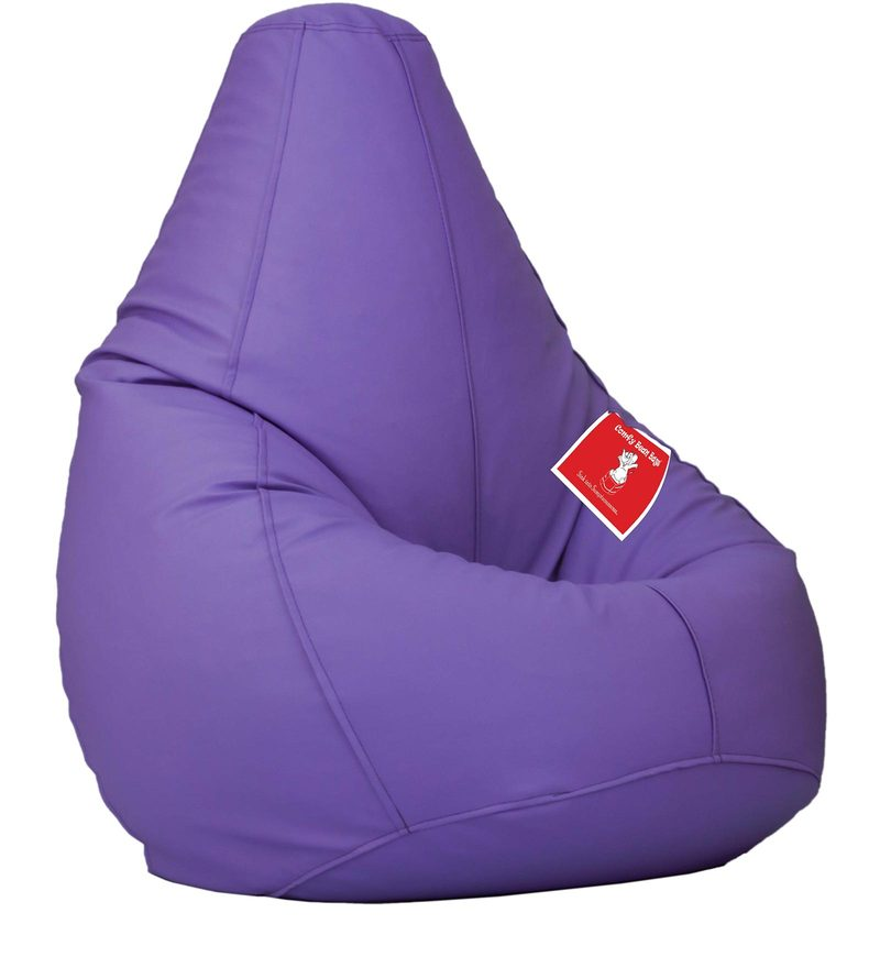 Bean Bag with Beans in Lavender Colour by Comfy Bean Bags