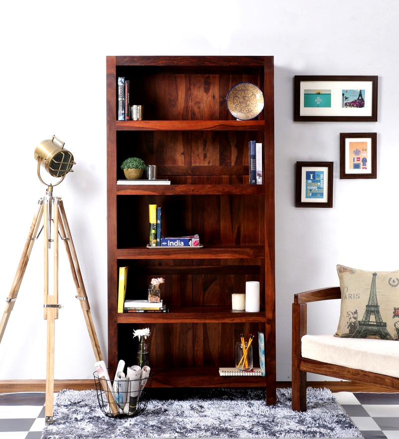 Freemont Book Shelf in Honey Oak Finish by Woodsworth
