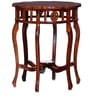 Bealey End Table in Honey Oak Finish by Amberville