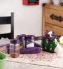 Herevin Bella  Table Set - 2 Napkin Holders & Salt Pepper Shaker - Set Of 3 In A Rack