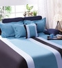 Bella Multicolour Cotton Queen Size Bedsheet - Set of 5