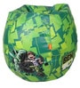 Ben 10 Digital Printed Kids Bean Bag Cover in Multicolour by Orka