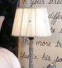White Fabric Lamp Shade by Beverly Studio
