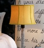 Mustard Poly Cotton Lamp Shade by Beverly Studio