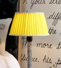 Yellow Poly Cotton Lamp Shade by Beverly Studio