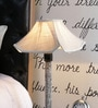 Grey Poly Cotton Lamp Shade by Beverly Studio