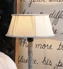 Cream Poly Cotton Lamp Shade by Beverly Studio