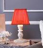 Beverly Studio Orange Poly Cotton Table Lamp