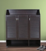 Billy Shoe Rack in Wenge Colour