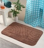 Bianca Browns Cotton 34 X 21 Bath Mat 1 Pc