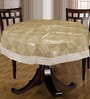 Bianca Gold PVC Table Cloth