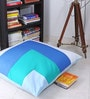 Big & Bright Floor Cushion with Filler in Multicolour by Kids Clan