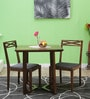 Binita Two Seater Dining Set in Provincial Teak Finish by Woodsworth