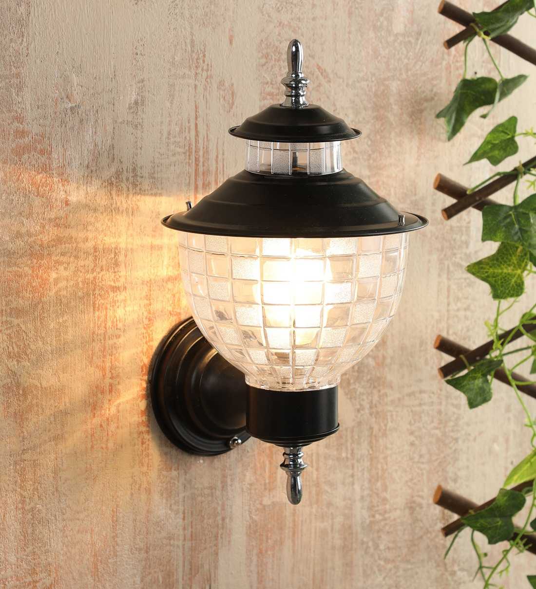 Buy Black Metal Outdoor Wall Light By Learc Designer Lighting Online Outdoor Wall Lights Outdoor Lights Lamps Lighting Pepperfry Product