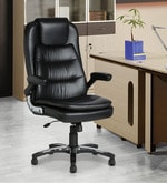 Black Colour Ergonomic Chair
