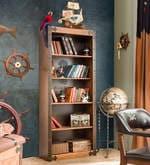 Black Pirate Bookcase