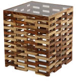 Blocs Coffee Table in Brown Colour
