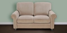 Blossom Two Seater Sofa in Brown Colour