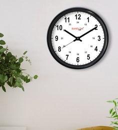 Black & White Plastic Genius  Wall Clock