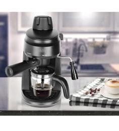 Black And Decker Four Cups Espresso & Cappucino Black Coffee Maker