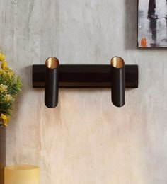 Black And Gold Metal Wall Light