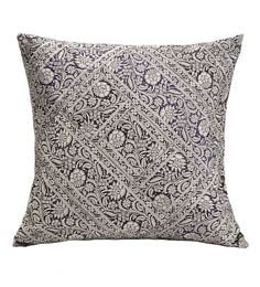 Black And White 100% Cotton Cushion Cover