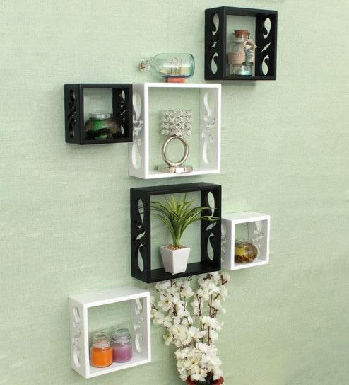 Living Room Wall Shelves Online