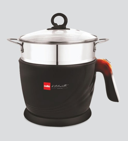 1f258630f Buy 600 W Multi Utility Aluminium Cooker Pasta Momo Maker- 1.2 Ltr Online - Electric  Cookers - Cookers - Kitchenware - Pepperfry Product