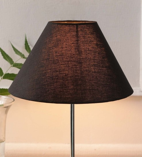 f80c66c83572 Buy Black Cotton and Stiffener Lamp Shade by New Era Online - Contemporary Lamp  Shades - Lamp Shades - Lamps & Lighting - Pepperfry Product