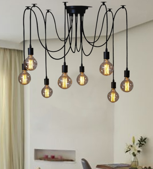 Black Iron Chandelier By The Steel