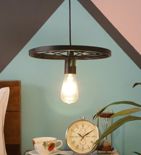 711979f5e23f Buy Black Iron Hanging Light by ASTRAL Online - Eclectic Hanging Lights - Hanging  Lights - Lamps & Lighting - Pepperfry Product