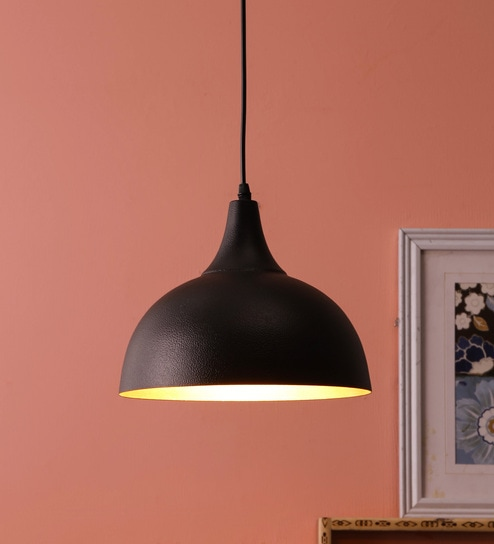 eb4fb41e067f Buy Black Iron Hanging Light by DecorativeRay Online - Contemporary ...
