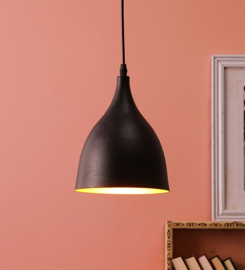 a2c63b70cb13 Buy Black Iron Hanging Light by DecorativeRay Online - Contemporary Hanging  Lights - Hanging Lights - Lamps & Lighting - Pepperfry Product