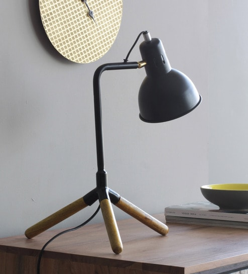 Buy black iron leaner study table lamp by orange tree online study black iron leaner study table lamp by orange tree aloadofball Choice Image