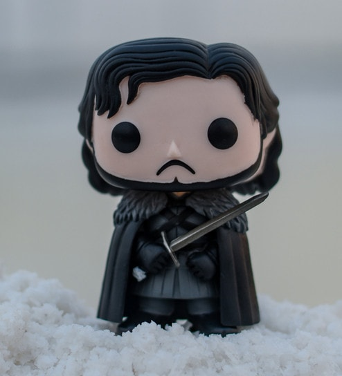 Buy Black Pvc Vinyl Jon Snow Castle Black Game Of Thrones Pop