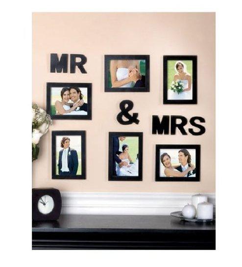 Buy Blacksmith Mr Mrs Black Photo Frame 6 Frames Online