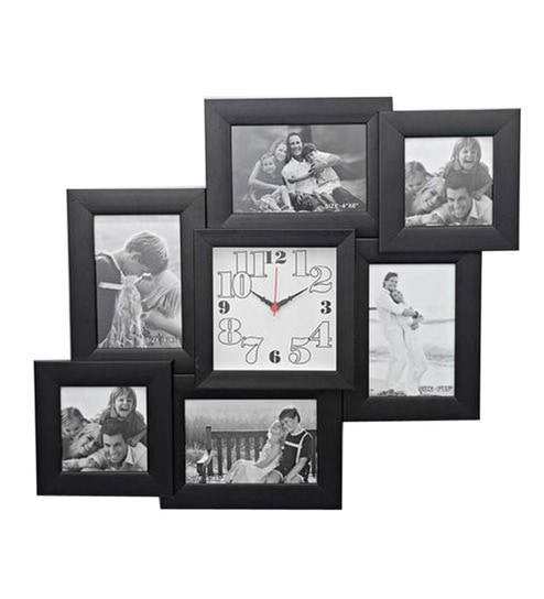 Blacksmith Contemporary Photo Frame Cum Wall Clock By Blacksmith