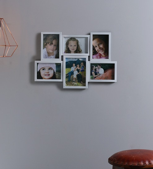 Buy Blacksmith White 6 Photo Frame Collage Online Collage Picture