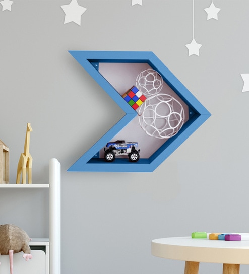 N Shoot Kids Wall Shelf By Boingg, Non Toxic Paint For Kids Furniture