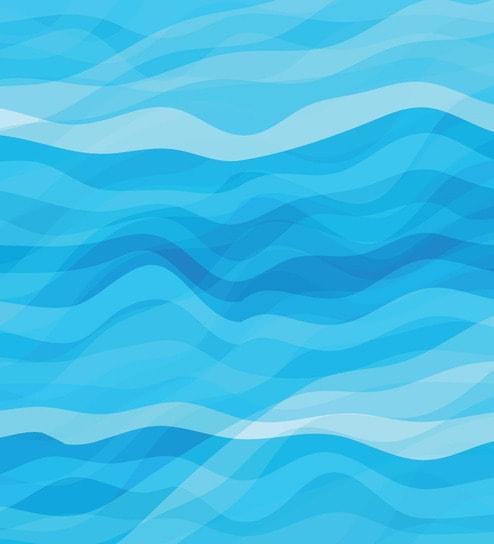 Print A Wallpaper Blue Water Waves Wallpaper
