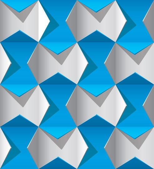 Print A Wallpaper Blue White 3d Wallpaper By Print A Wallpaper