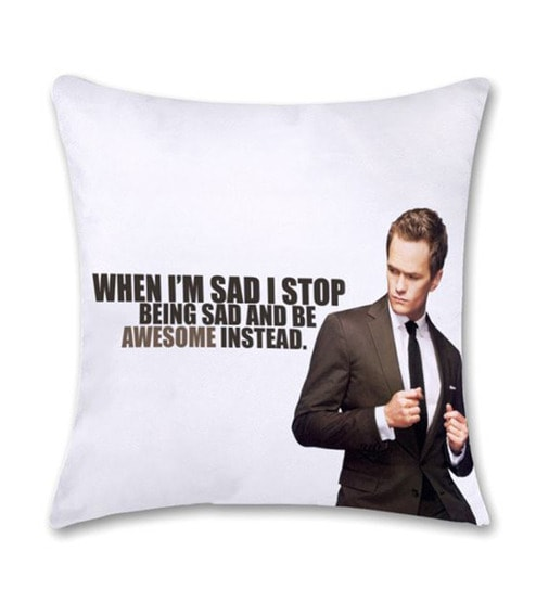 Bluegape Barney Stinson How I Met Your Mother Cushion Cover By