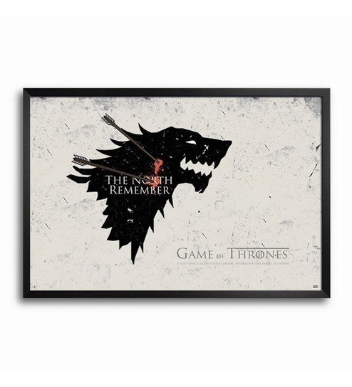 Bluegape Game Of Thrones The North Remember Framed Poster by ...
