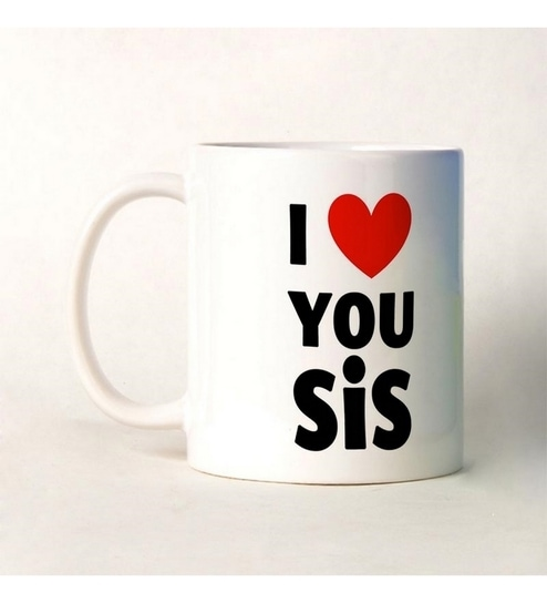 Bluegape I Love You Sister Mug By Bluegape Online Mugs Kitchen