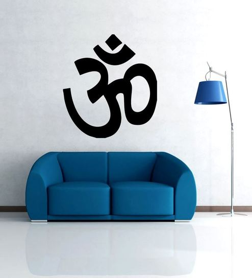 Bluegape Om symbol Wall Decal by Bluegape Online - Spiritual - Home ...